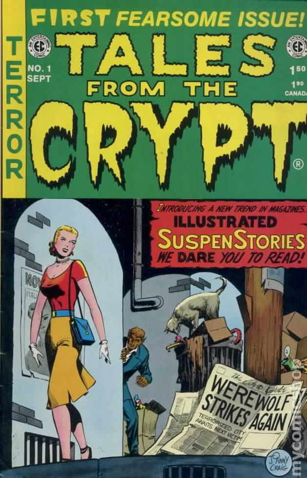 Tales From The Crypt 1992 Russ Cochran Gemstone Comic Books