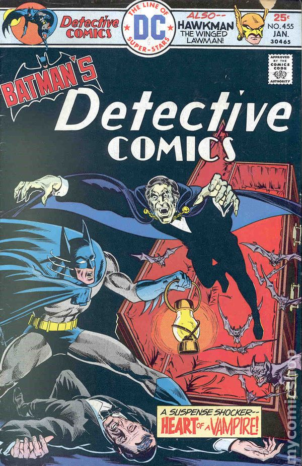 Action Comics #459 VG 4.0 1976 Stock Image Low Grade