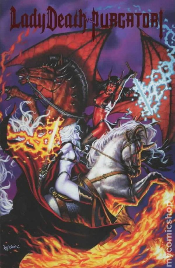 Lady Death Vs Purgatori 1999 Comic Books