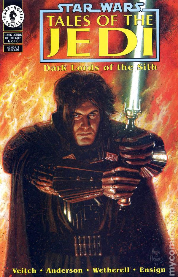 Star Wars Tales Of The Jedi Dark Lords Of The Sith 1994 Comic Books