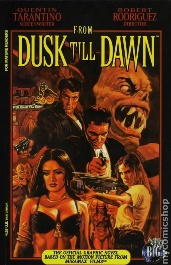 From Dusk Till Dawn GN (Big) Movie Adaptation 1A-1ST 1996 ...