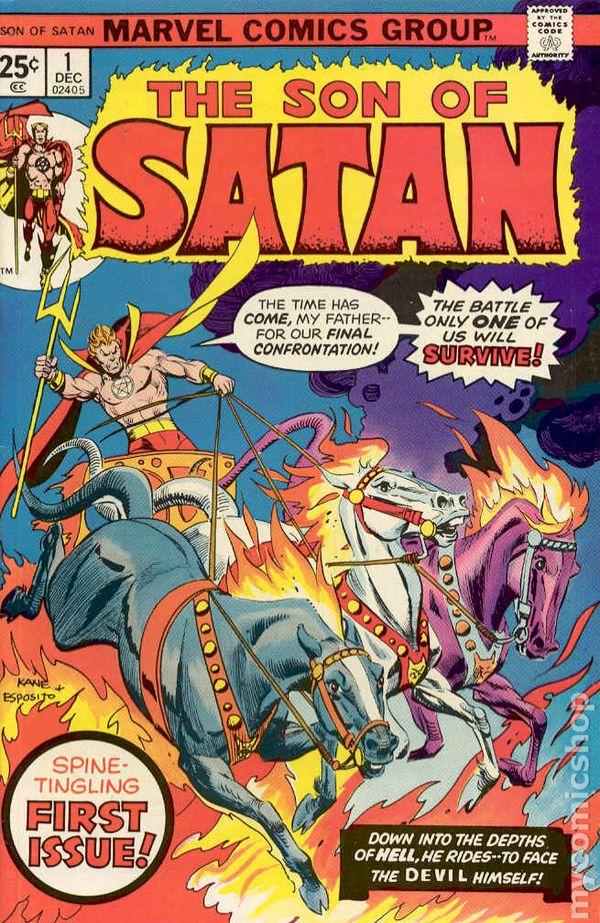 son of satan 1975 comic books