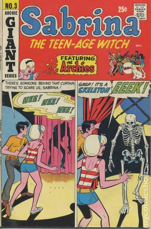 Sabrina the Teenage Witch (1971 1st Series) comic books