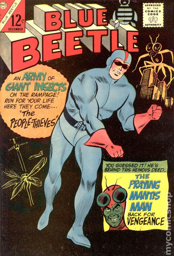 Blue Beetle 1965 Charlton Comic Books