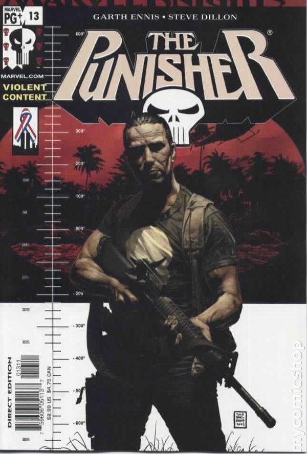 Resultado de imagem para Punisher 2001