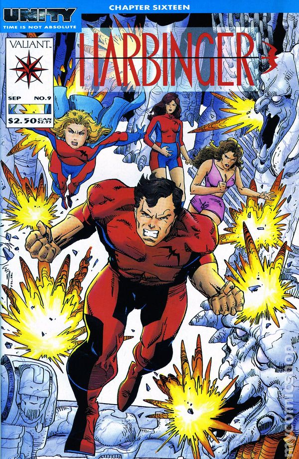 1992-1995 #14 1 Harbinger Vol