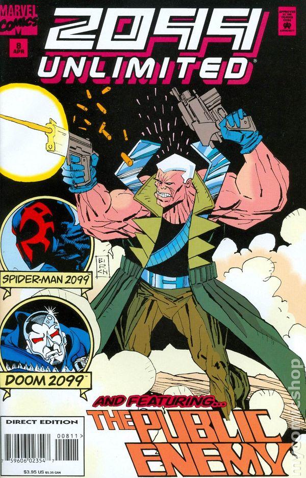 2099 Unlimited Spider-Man 2099 Volume 1 #9 Marvel Comics Jul 1995 NM