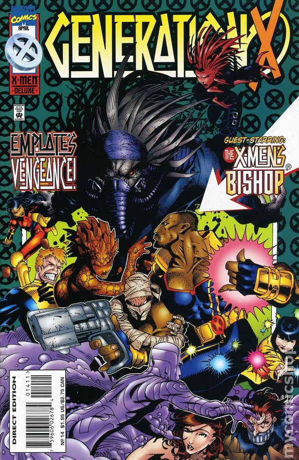 Generation X (1994) comic books