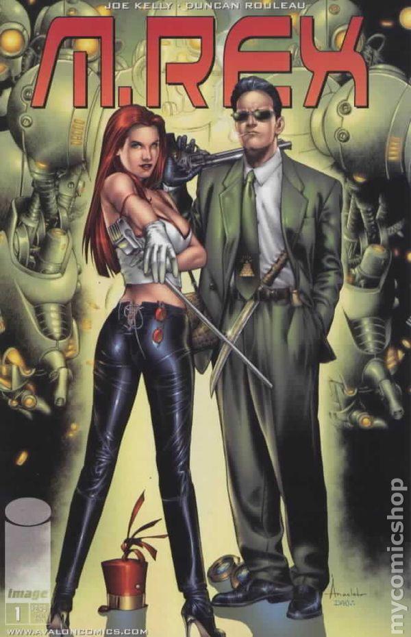 M Rex 1999 Comic Books