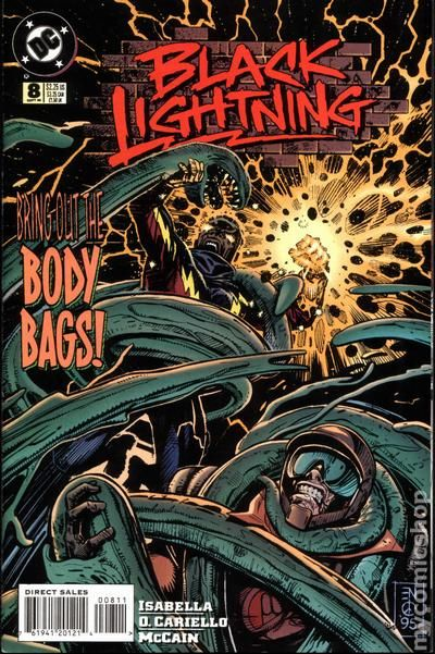 Black Lightning 1995 series # 5 near mint comic book