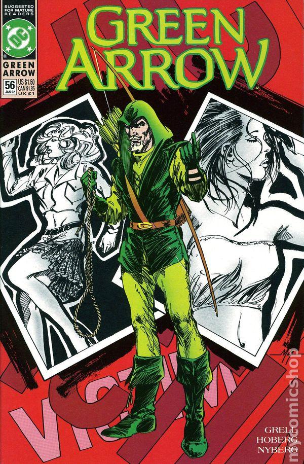 Green Arrow U-PICK ONE #56,58,59,60,63,64 or 65 DC 1991-92 PRICED PER COMIC