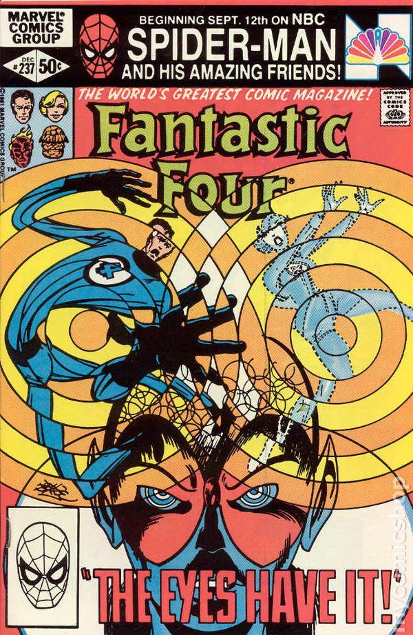 Fantastic Four Comic Books Issue 237