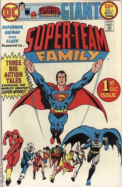 Super Team Family 1975 Comic Books