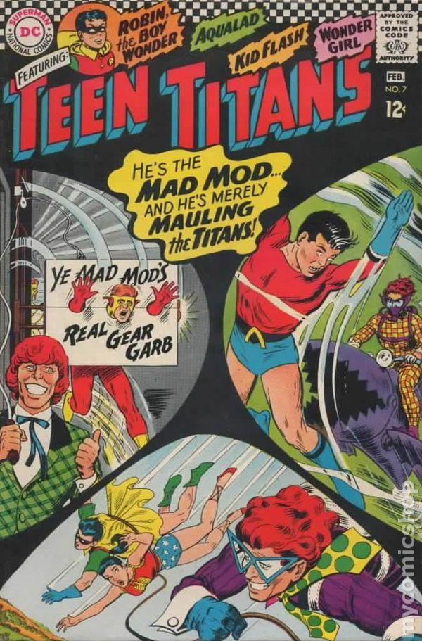 Teen Titans 1966 1st Series Comic Books 1960 1969