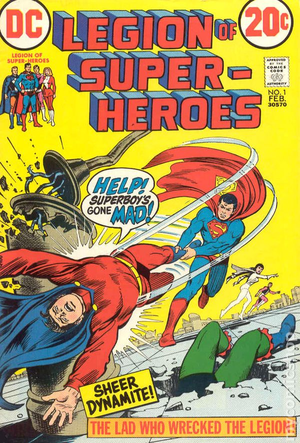 Legion Of Super Heroes Comic Issue 306 Bronze Age First: Legion Of Super-Heroes (1973 1st Series) Comic Books