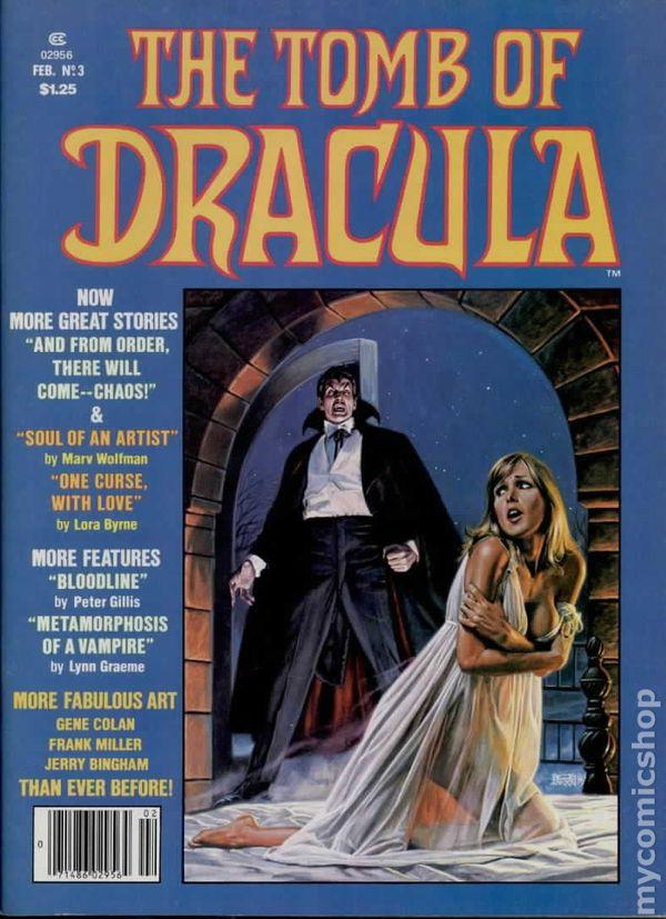 Tomb Of Dracula Comic Books Issue 3