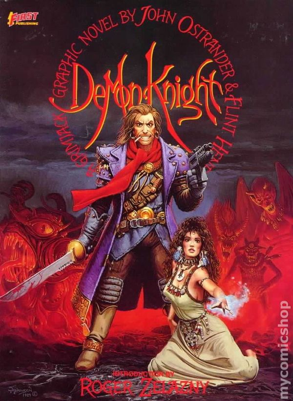 Demon Knight A Grimjack Graphic Novel Gn 1989 First Publishing