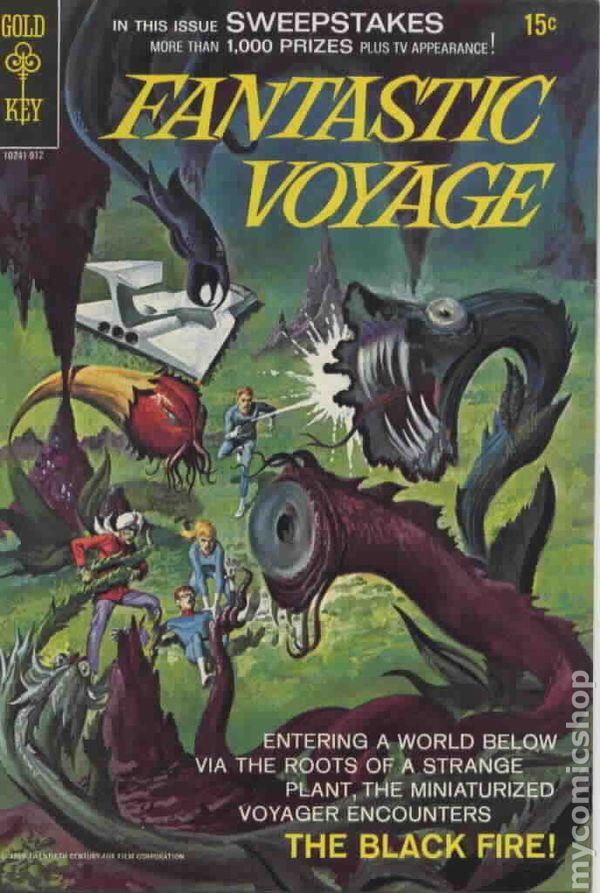 The Best Cartoon Parodies of 'Fantastic Voyage'
