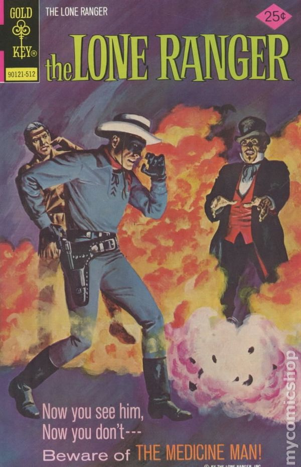 Lone Ranger (1964 Gold Key) comic books