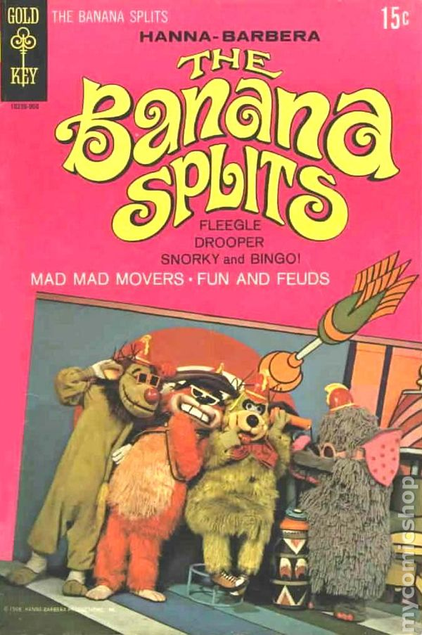 Banana Splits  1969  Comic Books