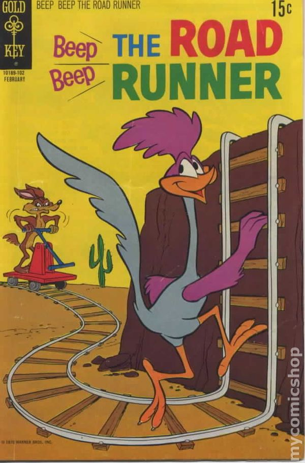 beep beep the road runner  1966 gold key  comic books