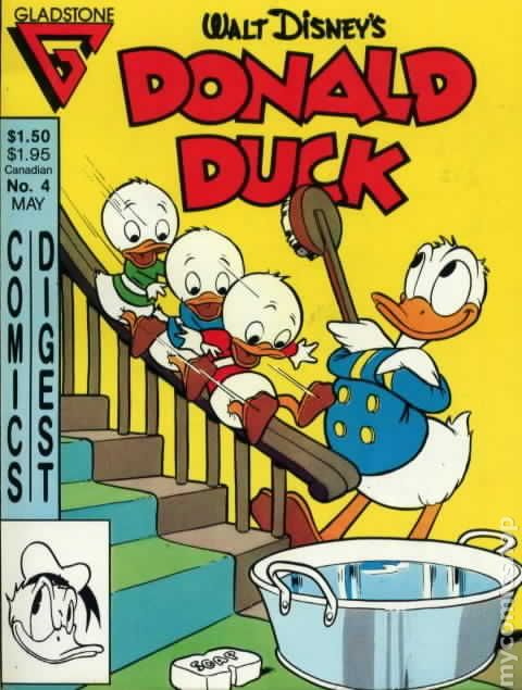 donald duck comics digest 1986 comic books. Black Bedroom Furniture Sets. Home Design Ideas
