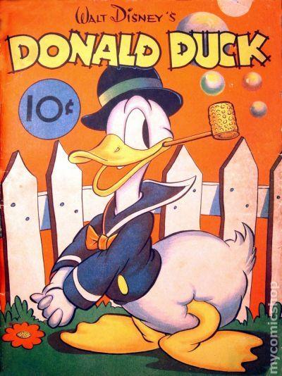 Donald Duck (1938 Whitman) comic books