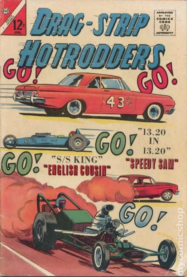 Dragstrip Hotrodders (1963) comic books