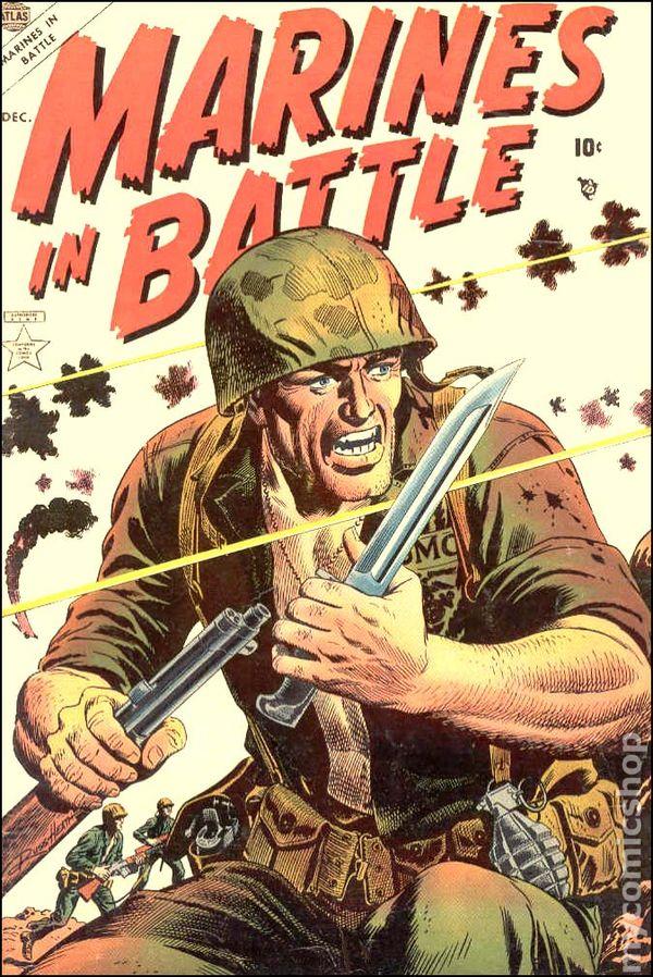 Marines In Battle 1954 Comic Books