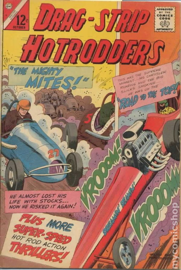 Dragstrip Hotrodders (1963) comic books