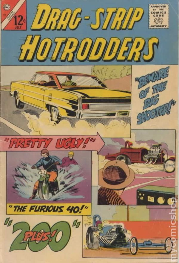 Dragstrip Hotrodders (1963) comic books 1956-1969