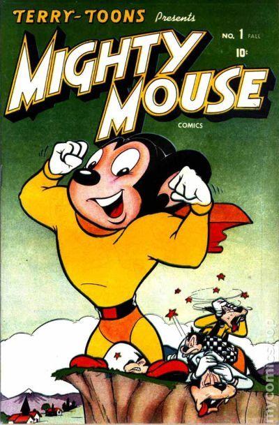 """Résultat de recherche d'images pour """"mighty mouse 1946"""""""