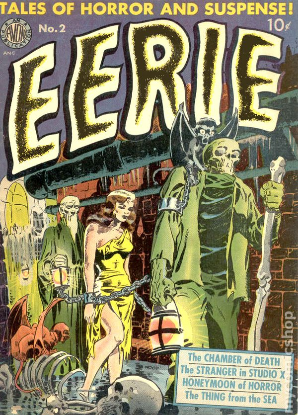 Image result for eerie avon comics