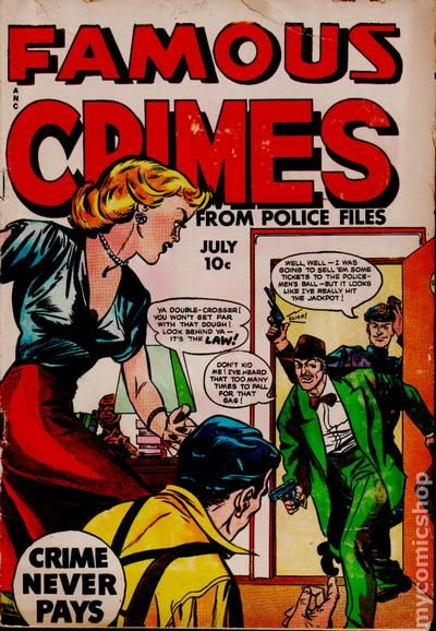 Famous Crimes (1948) Comic Books