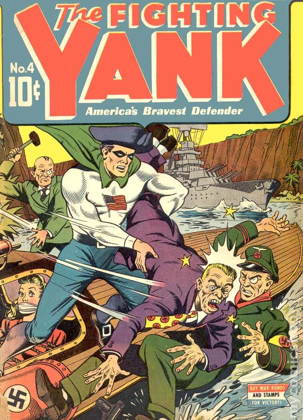 Image result for fighting yank comics