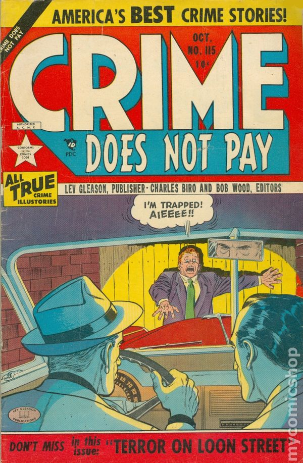 crime does not pay story On crime does not pay by colin smith | in articles  the story's patently not the thing here,  tagged crime does not pay, crime genre,.