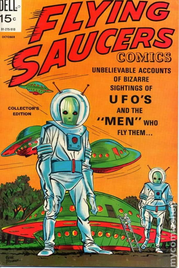 Flying Saucers 1967 Dell Comic Books