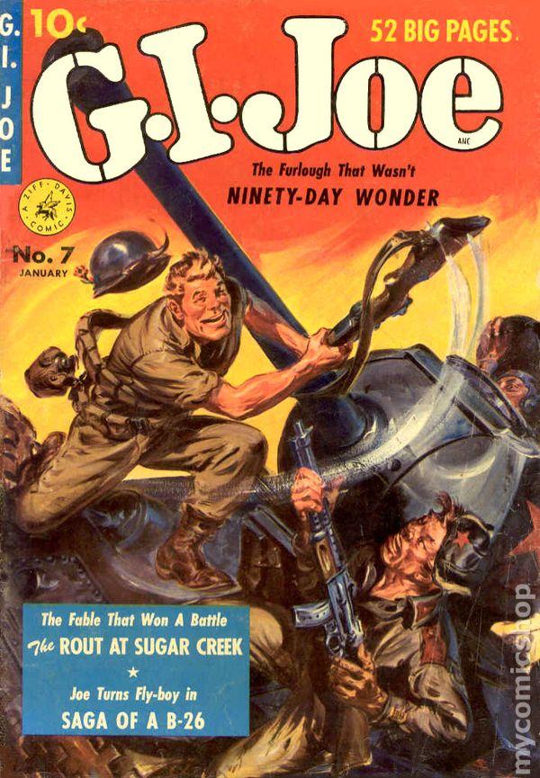 GI Joe (1951 Ziff Davis) comic books