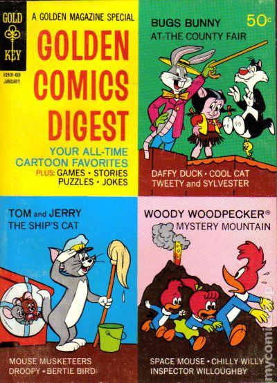 Golden Comics Digest (...