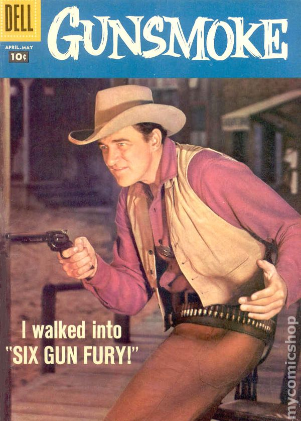 Gunsmoke (1958 Dell) comic books