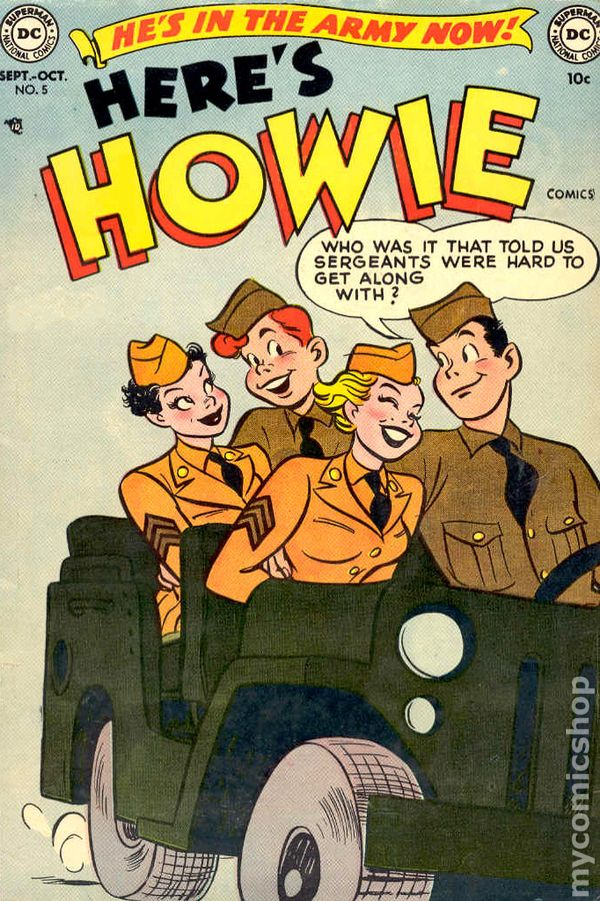 Here S What Kylie Jenner Lipstick Looks Like On: Here's Howie Comics (1952) Comic Books