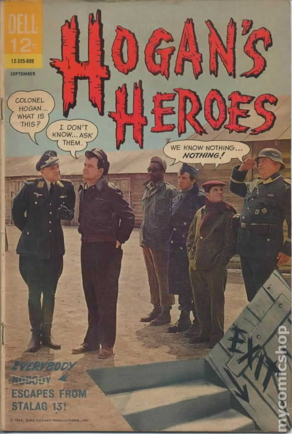 Hogan's Heroes (1966-1969 Dell) comic books