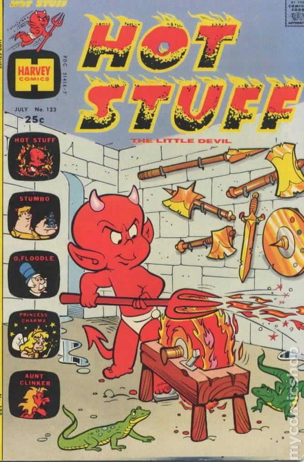 Hot Stuff #140 VG 4.0 1977 Stock Image Low Grade