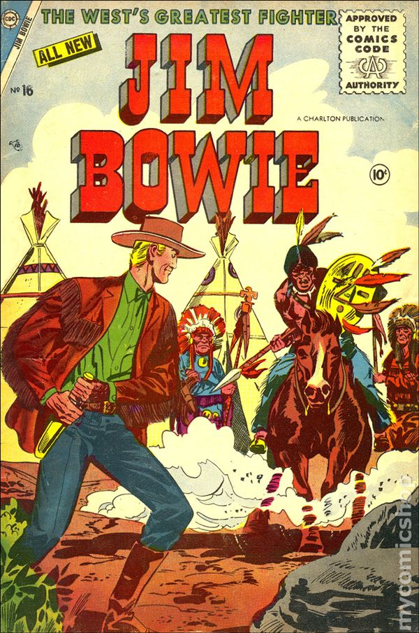 Image result for jim bowie comic book