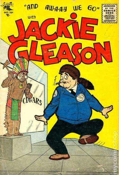 Jackie Gleason 1955 St John Comic Books