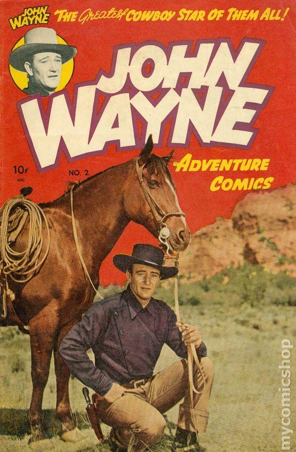 John Wayne Adventure Comics (1949) comic books