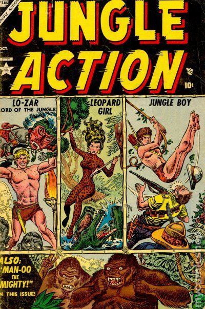 Image result for atlas comics jungle comics #1