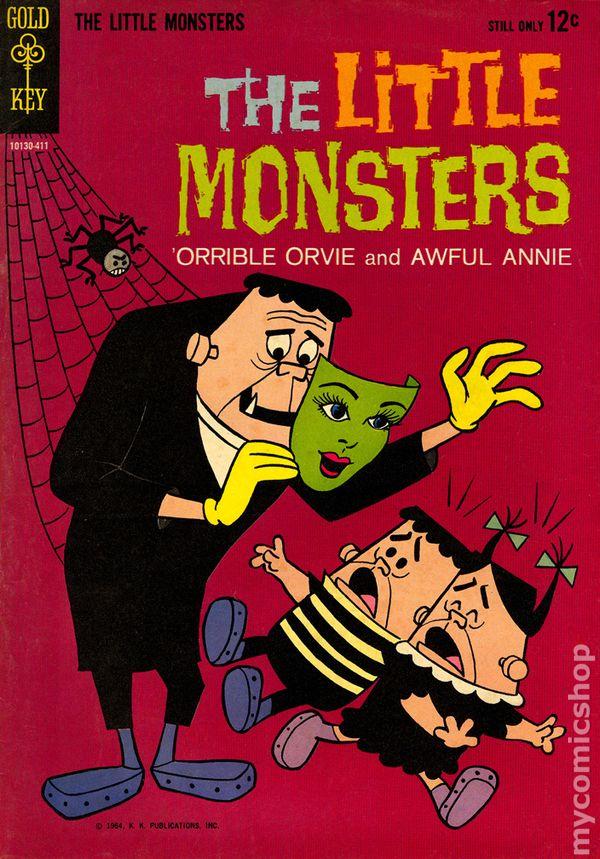 Little Monsters 1964 Gold Key Comic Books