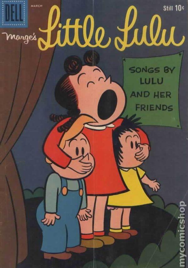 little lulu  1948 dell  gold key  comic books