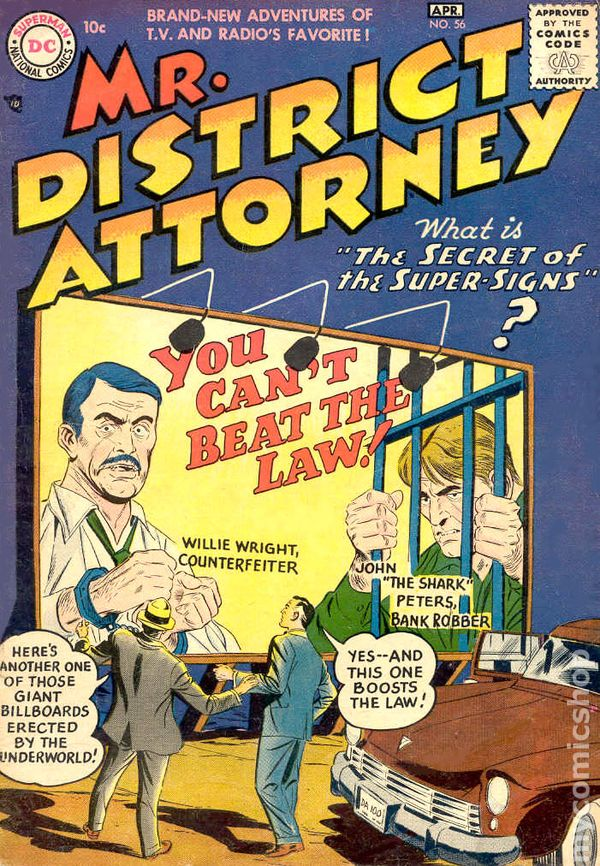 Mr  District Attorney  1948  Comic Books